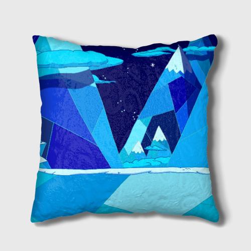 Подушка 3D Ледяной король Фото 01