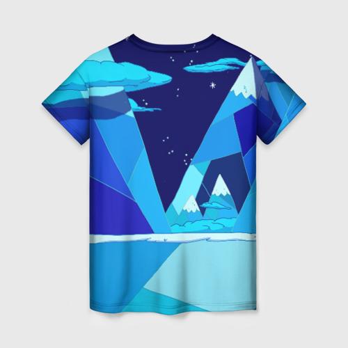 Женская футболка 3D Ледяной король Фото 01
