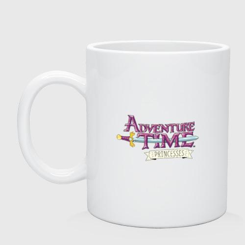 Кружка Adventure time pink