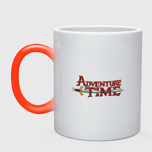 Кружка хамелеон Adventure time