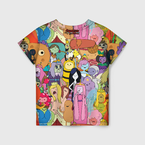 Детская футболка 3D Adventure time Фото 01