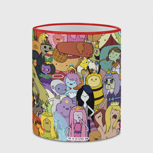 Кружка с полной запечаткой Adventure time Фото 01