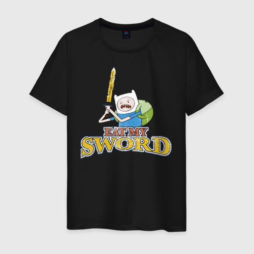 Мужская футболка хлопок Eat my sword Фото 01