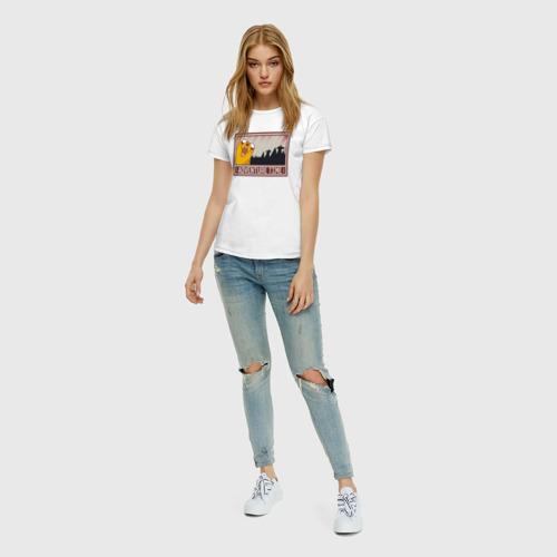 Женская футболка хлопок Adventure time Фото 01