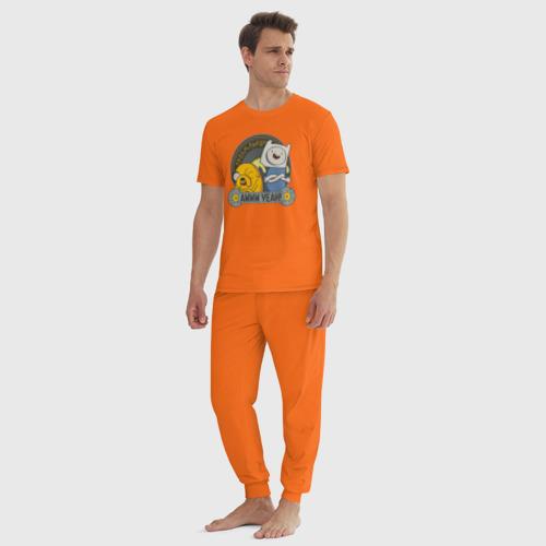 Мужская пижама хлопок Awww yeah! Фото 01