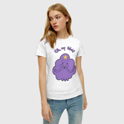 Женская футболка хлопок Oh, my Glob! Фото 01