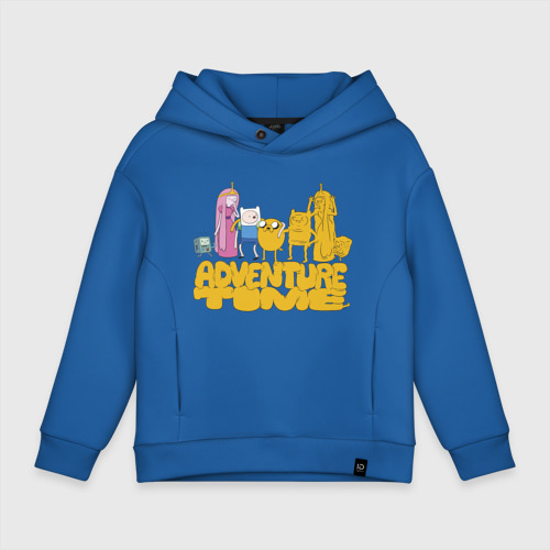 Детское худи Oversize хлопок Adventure time Фото 01