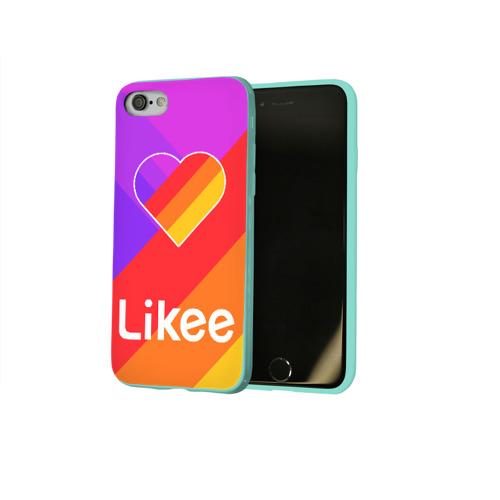 Чехол для Apple iPhone 8 силиконовый глянцевый РЮКЗАК LIKEE Фото 01