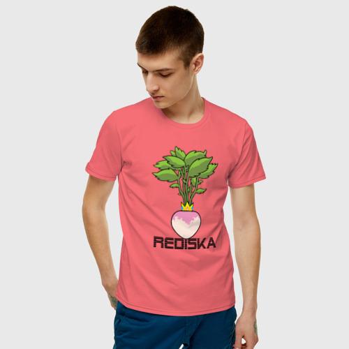 Мужская футболка хлопок Редиска Фото 01