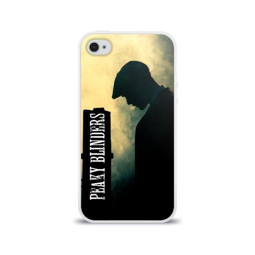 Чехол для Apple iPhone 4/4S силиконовый глянцевый Острые козырьки Фото 01