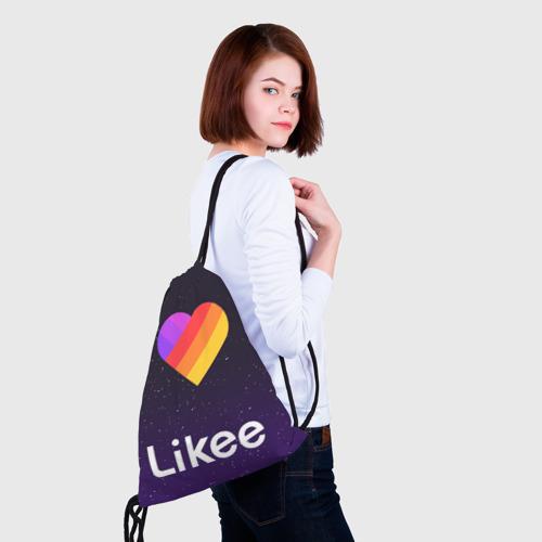 Рюкзак-мешок 3D РЮКЗАК LIKEE  Фото 01