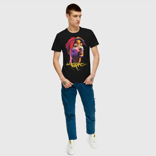 Мужская футболка хлопок 2PAC Фото 01