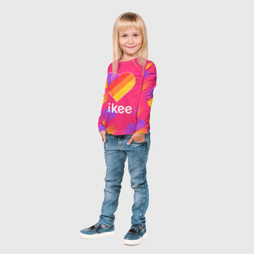 Детский лонгслив 3D LIKEE Фото 01