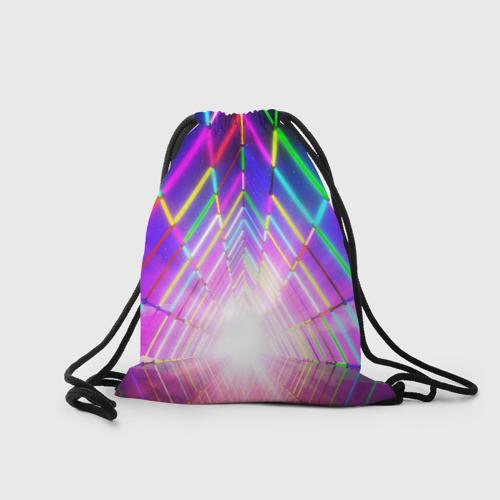 Рюкзак-мешок 3D РАДУЖНЫЙ НЕОН Фото 01