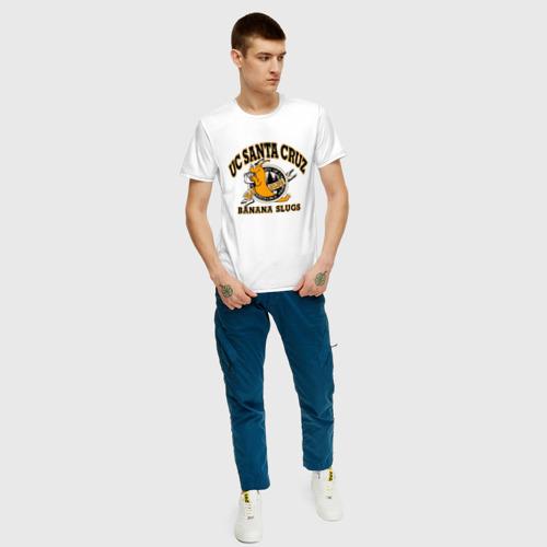 Мужская футболка хлопок uc santa cruz Фото 01