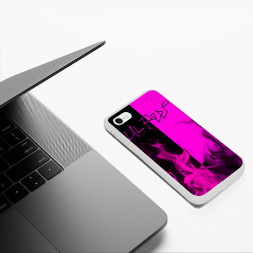 Чехол для iPhone 6/6S матовый LIL PEEP Фото 01