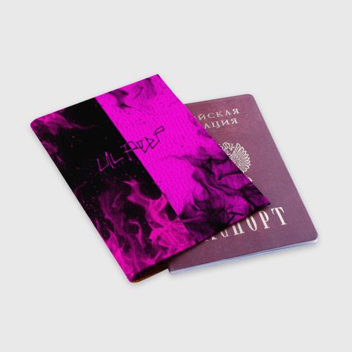 Обложка для паспорта матовая кожа LIL PEEP Фото 01