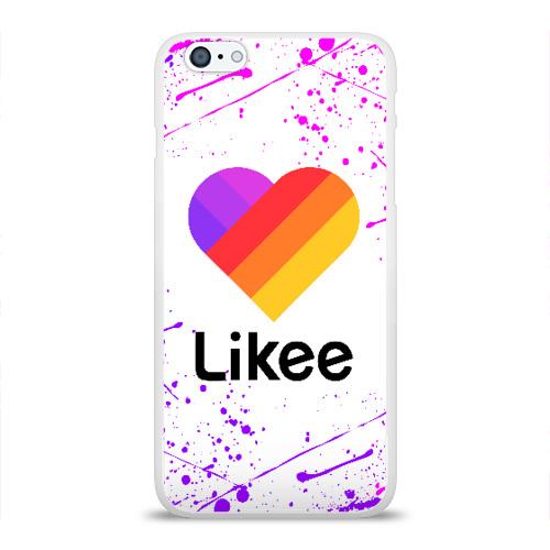 Чехол для iPhone 6Plus/6S Plus глянцевый LIKEE Фото 01