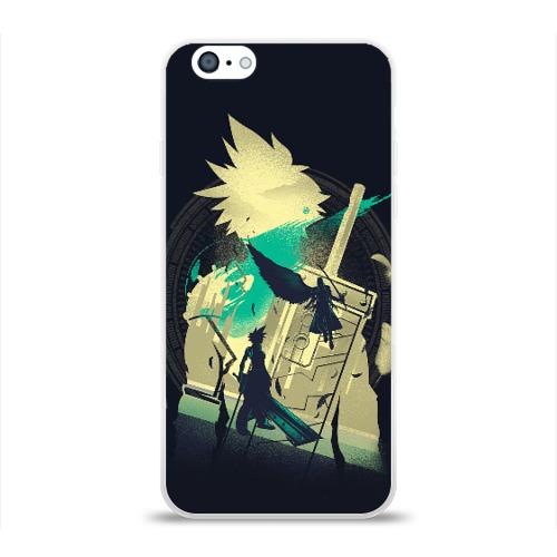 Чехол для Apple iPhone 6 силиконовый глянцевый Final Fantasy VII Фото 01