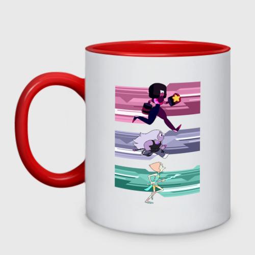 Кружка двухцветная Steven Universe