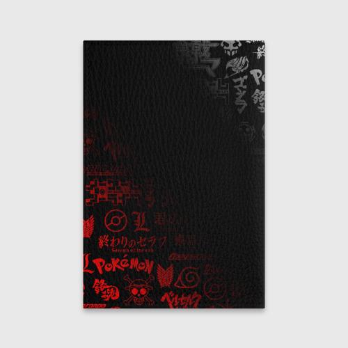 Обложка для паспорта матовая кожа SENPAI Фото 01