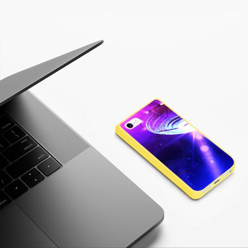 Чехол для iPhone 5/5S матовый НЛО Фото 01