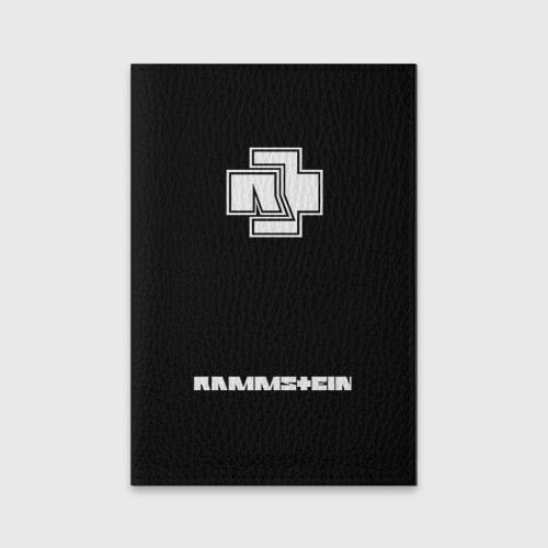 Обложка для паспорта матовая кожа РЮКЗАК RAMMSTEIN Фото 01