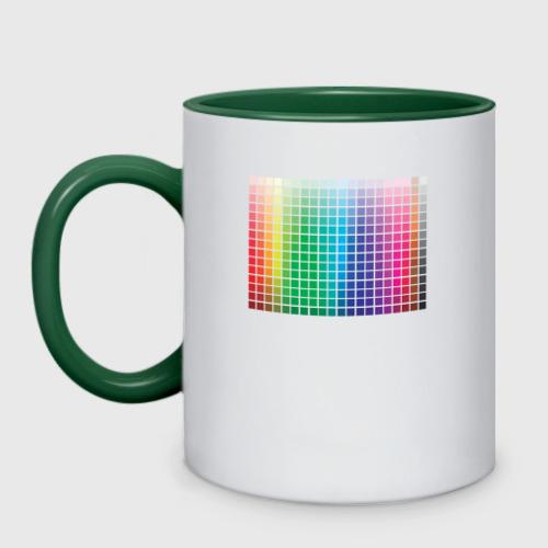 Кружка двухцветная Цвета Дизайнер Фото 01