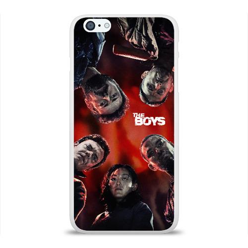 Чехол для Apple iPhone 6Plus/6SPlus силиконовый глянцевый THE BOYS (ПАЦАНЫ) Фото 01