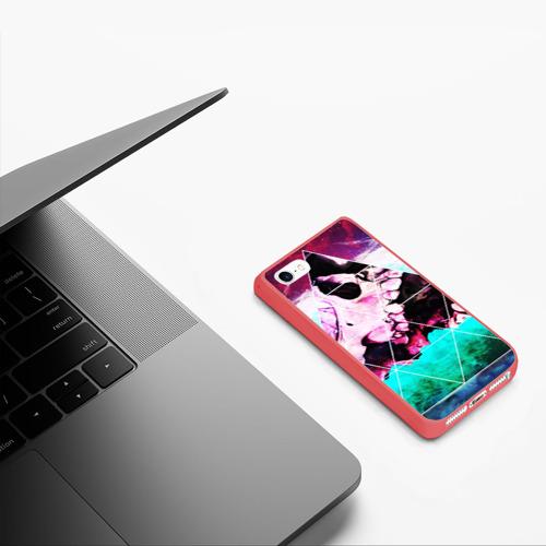 Чехол для iPhone 5/5S матовый SKULL SPACE Фото 01