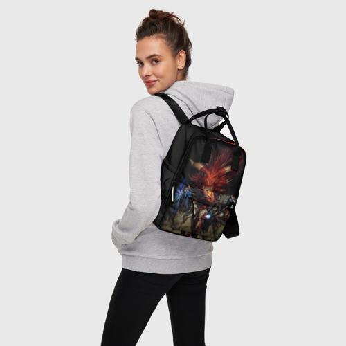 Женский рюкзак 3D D&D Фото 01