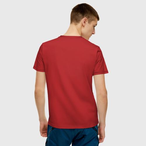 Мужская футболка хлопок Poi flower Фото 01
