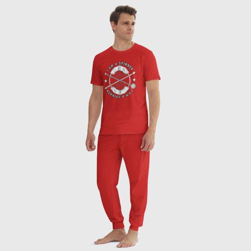 Мужская пижама хлопок Fire spinner Фото 01