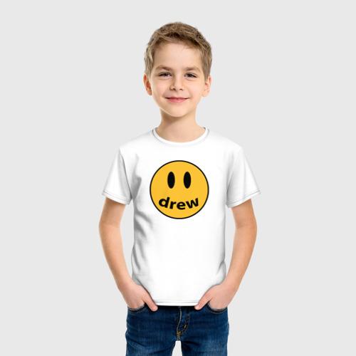 Детская футболка хлопок Джастин Бибер Drew Фото 01