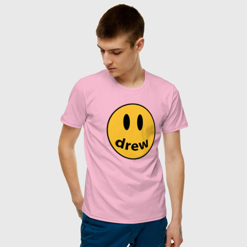 Мужская футболка хлопок Джастин Бибер Drew Фото 01