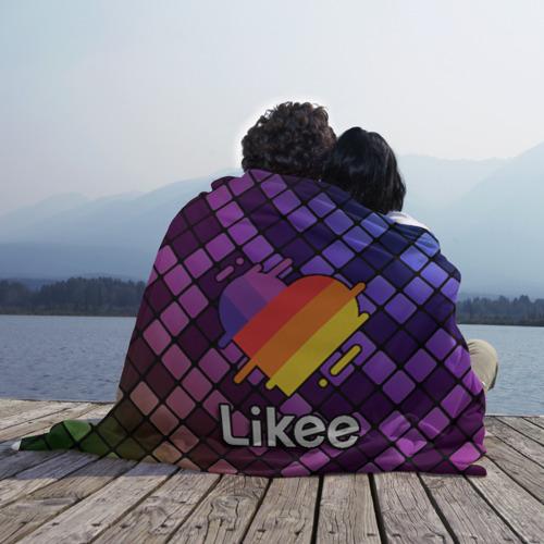 Плед 3D Likee (LIKE Video) Фото 01