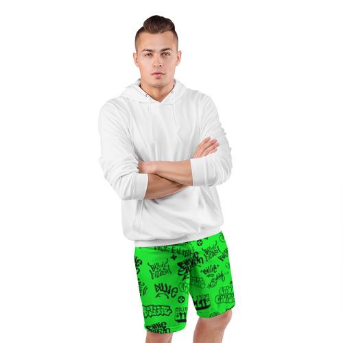 Мужские шорты спортивные Billie Eilish graffiti Фото 01