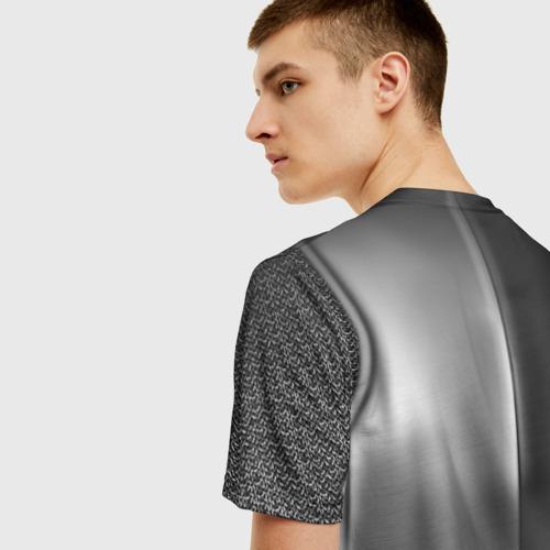 Мужская футболка 3D Доспехи рыцаря (желет) Фото 01