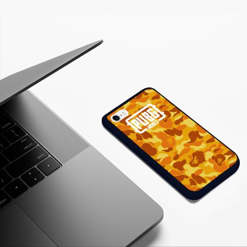 Чехол для iPhone 6/6S матовый PUBG x BAPE Фото 01