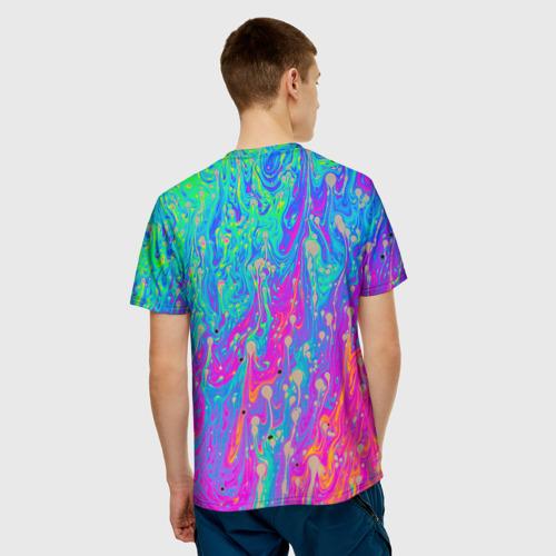 Мужская футболка 3D НЕОНОВАЯ ПАЛИТРА Фото 01