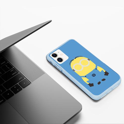Чехол для iPhone 11 матовый Миньон Фото 01