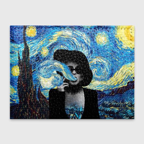 Обложка для студенческого билета Марла на картине Ван Гога Фото 01
