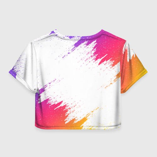 Женская футболка Crop-top 3D LIKEE Фото 01