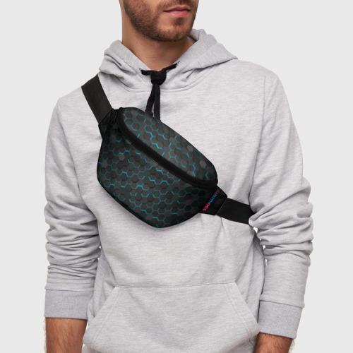 Поясная сумка 3D Turquoise Octagon  Фото 01