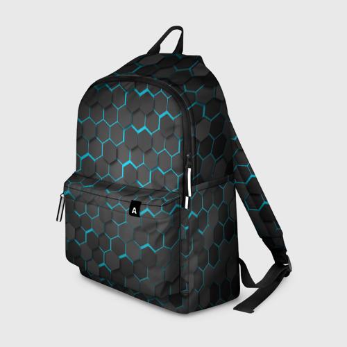 Рюкзак 3D Turquoise Octagon  Фото 01