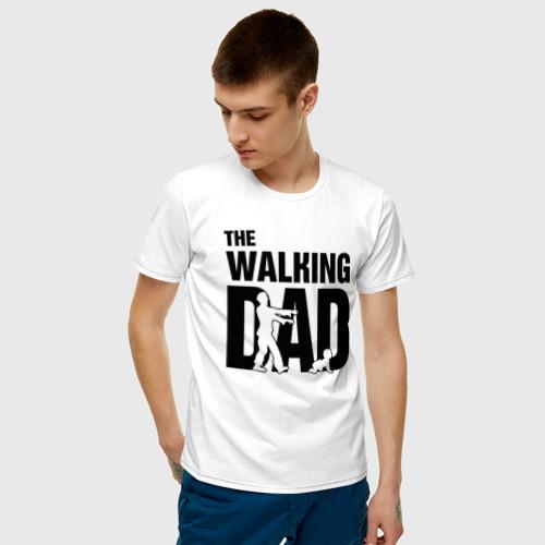 Мужская футболка хлопок The Walking Dad Фото 01