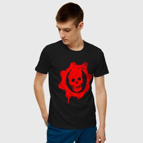 Мужская футболка хлопок GEARS OF WAR Фото 01