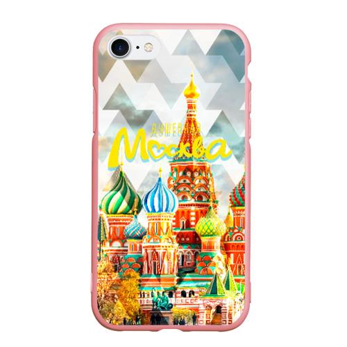 Чехол для iPhone 7/8 матовый Москва Фото 01