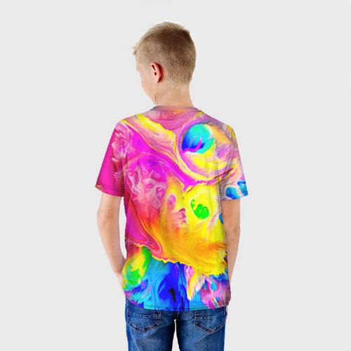 Детская футболка 3D КРАСКИ Фото 01