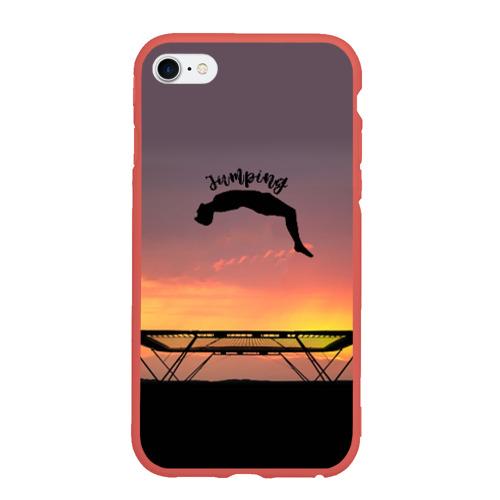 Чехол для iPhone 6/6S матовый Jumping Фото 01